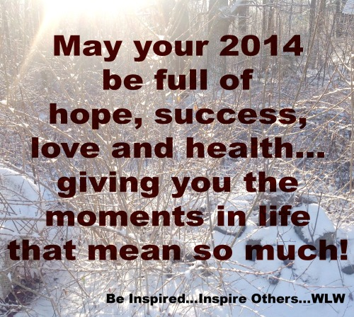 Hope, Success, Love & Health!